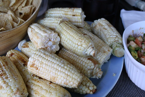 Ponzu Grilled Corn