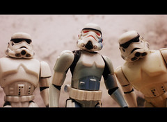 Storm Troopers (THE AMAZING KIKEMAN) Tags: photography star action stormtroopers jin figure jar obi padme boba wars wan qui c3po gon binks jawas fett kenobi amidala