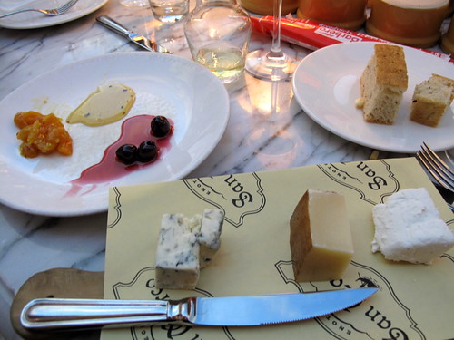 Cheese course at Otto