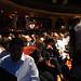 Speakers prepare