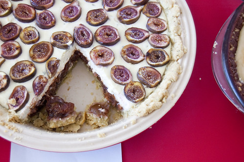 marscapone fig pie