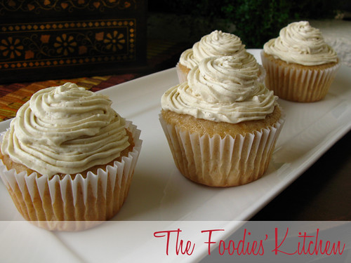 Horchata Cupcakes