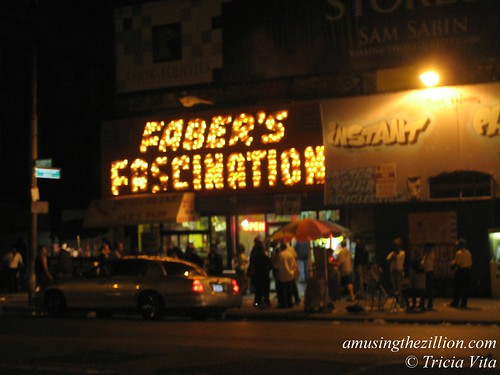 Last Night at Faber's Fascination. Henderson Building, Coney Island. Sept. 6, 2010. Photo © Tricia Vita/me-myself-i via flickr