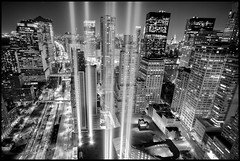 A Preview of the 9/11 Tribute in Light 2010 (9/11 Memorial) (RBudhu) Tags: gothamist tributeinlight 911memorial 911 twintowers lowermanhattan newyorkcity nyc newyorknewyork newyork ny 80weststreet empirebuilding onewallstreet 1wallstreet 90weststreet libertycourt 380rectorplace newyorklandmark albanystreet thamesstreet greenwichstreet playground gatewayplaza northcove hudsonriver hudsonharbor newjersey nj jerseycity exchangeplace grovestreet freedomtower groundzero worldtradecenter 7wtc 7worldtradecenter sevenworldtradecenter thevisionaire oneworldfinancialcenter twofinancialcenter threeworldfinancialcenter verizonbuilding trinitychurch 123washingtonstreet whotel wfc worldfinancialcenter usrealtybuilding trinitybuilding municipalbuilding downtownmanhattan bigapple batteryparkcity batteryparkcityassociation marinemidlandbankbuilding 19rectorstreet nightphotography hdr flickraward downtownclub window skyline cityskyline urbanskyline urban cartrail longexposure city equitablebuilding zuccottipark deutschebankbuilding tributeoflight groundzeromosque