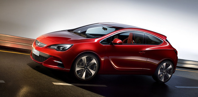 Opel Astra GTC - koncept za Pariz