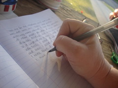 Morning Pages (juliejordanscott) Tags: pen writing notebook earlymorning write morningpages gratitude introspection ithink thebirthofapoem movingthepencil