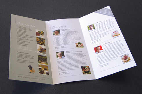 Braxted Park Cookery School DL flyer