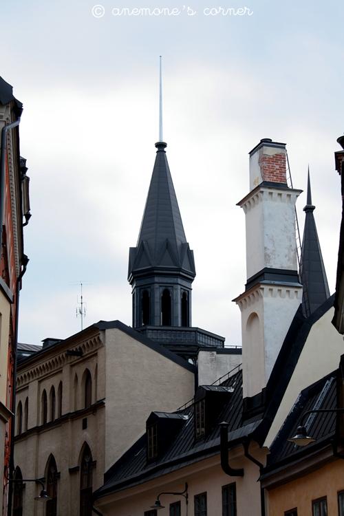 Stoccolma: meravigliosi tetti neri..