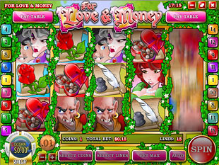 Love and Money slot game online review