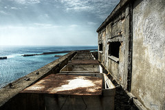 The monster with the empty womb #5 - Room with a view (ilcorvaccio) Tags: urban abandoned skies decay rusty eerie creepy abandon website exploration decaying decadence ue alessandro urbex haikyo sicco wwwalessandrosiccocom