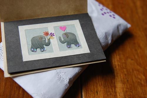 leaf elephants. clever.