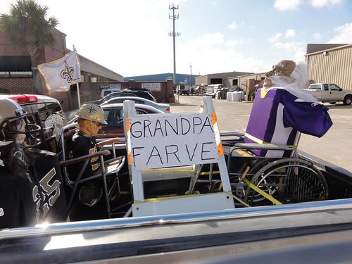 Grandpa Farve [sic]