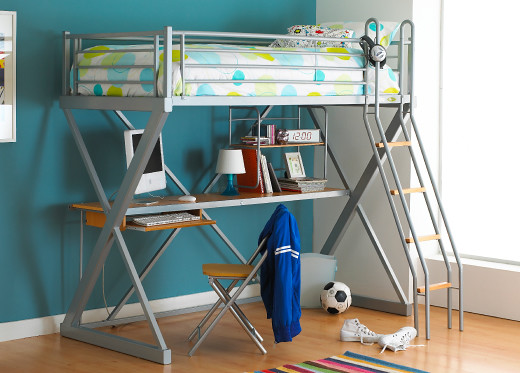 Calgary Highsleeper Bunk  Bed by Dreams Beds and Mattresses