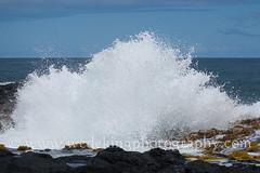 hawaii-waves-rocks-0281 (wedekingphotography) Tags: ocean water rock hawaii lava bigisland crashingwave
