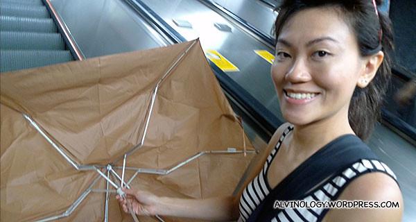New umbrella!