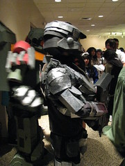 Awsome carboard costumes! (Vegas PG) Tags: vegas anime cosplay halo cardboard 2010 vegaspgcosplay