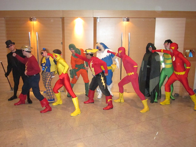 Flash & Rogues Gallery Photo Shoot at Dragon*Con 2010