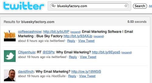 blueskyfactory.com - Twitter Search