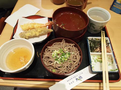 松江駅で昼ごはん