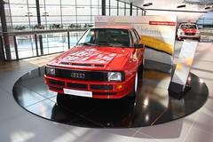 "Audi Sport Quattro at the ""30 Jahre quattro"" exhibition (denis_g_v) Tags: 6 car sport 30 tdi 1 5 forum 14 4 ad 7 8 convertible s spyder exhibition advertisement 25 l years a1 tt q 50 a4 audi werbung rs a5 32 coupe 42 limousine 60 touring avant kombi v10 coup a6 s4 rsq w12 drivetrain a8 cabriolet quattro r8 fsi rs6 v12 tronic jahre v5 a8l q7 neckarsulm allroad a rs5 tfsi stronic denisgv ttrs schanzenspot"