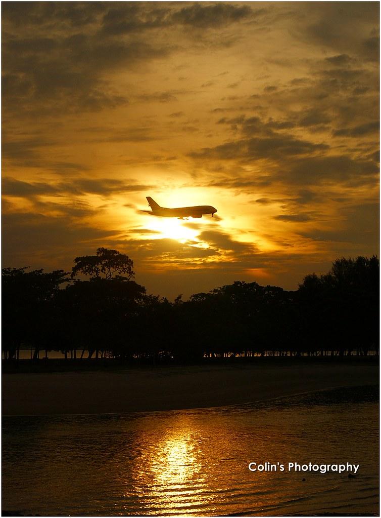 Changi Beach's Sunrise