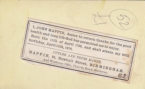 John Mappin (reverse)