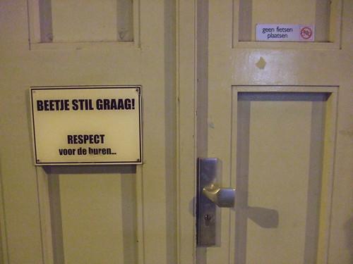 Respect voor de buren