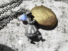 Holly Locket Necklace
