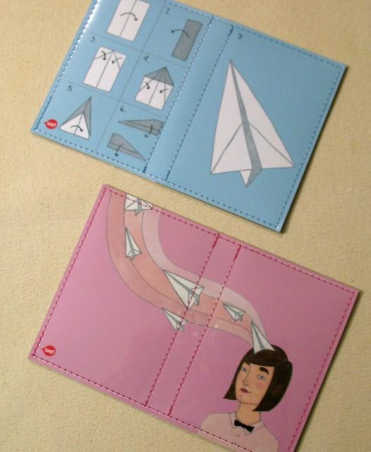 Paper Planes passport cases