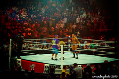 Cena / Orton staredown - WWE RAW