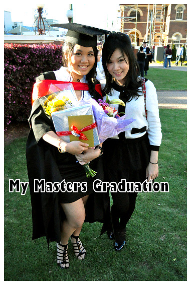 My Masters Graduation 2010: With Shaine