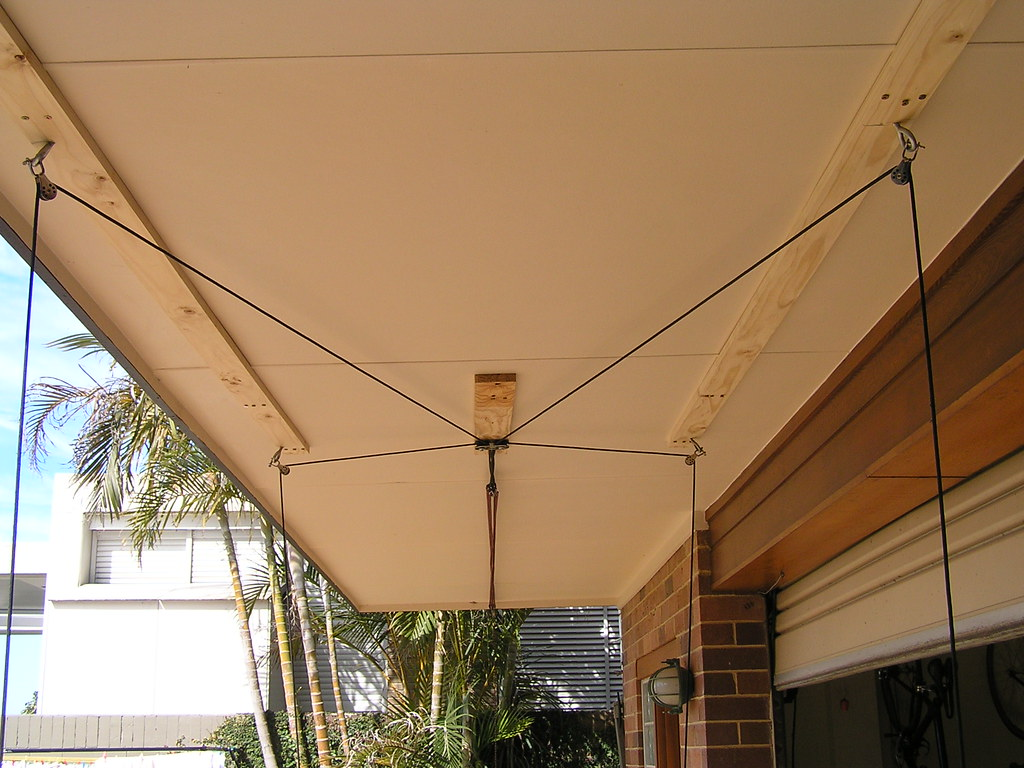 garage storage overhead storage systems pulley hoists overhead garage ...
