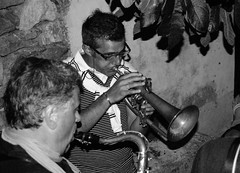 Paolo Fresu e Tino Tracanna (gianfilippo masserano) Tags: jazz sax posada tromba paolofresu tinotracanna nuorojazz2010 gianfilippomasserano