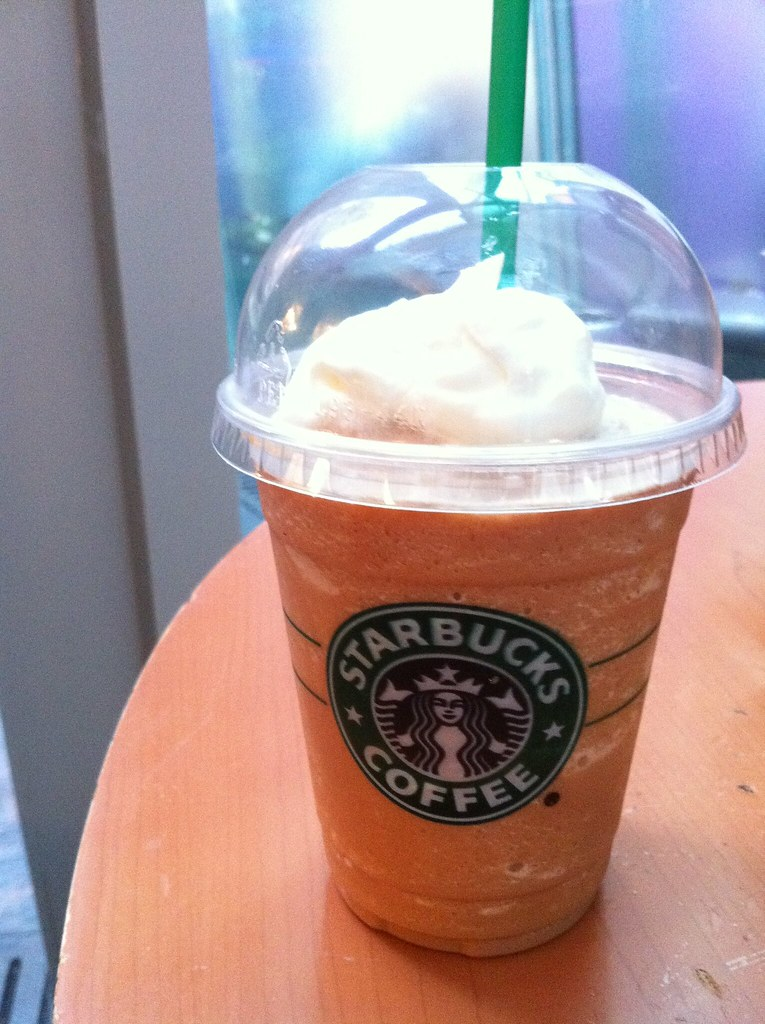 starbucks milk tea frappacino
