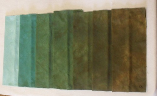 8 Aqua Marine to Bronze NF