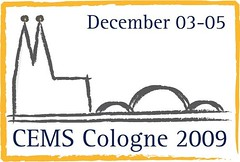 CEMS Annual Events 2009 Logo
