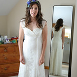 Zoe's wedding dress: From start to finish
