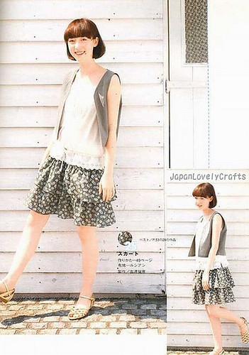609325e3181 1 DAY SEWING SUMMER CLOTHES - JAPANESE HANDMADE PATTERN BOOK FOR WOMEN - ONE  DAY SEWING