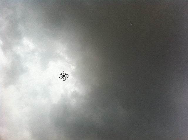 AR Drone in the sky