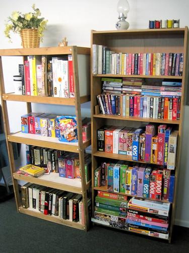 Shalimar Clubhouse Bookshelf