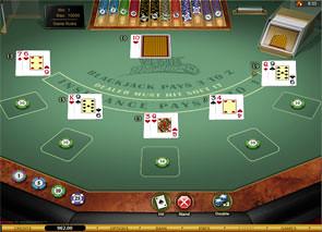 Vegas Downtown Blackjack Gold Series