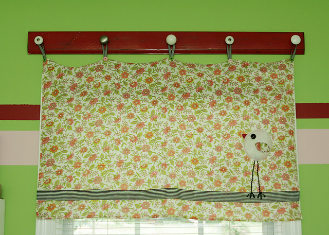 curtain valance holder