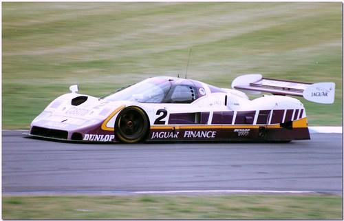 wallace / ferté twr silk cut jaguar xjr-11 group c sportscar. 1989