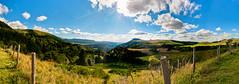 Colore la terre (1oeil2yeux) Tags: panorama france landscape vacances nikon 1855mm nikkor paysage mont col hdr auvergne panoramix dore sunflare d300 montdore f3556 bannedordanche coldelacroixmorand croixmorand