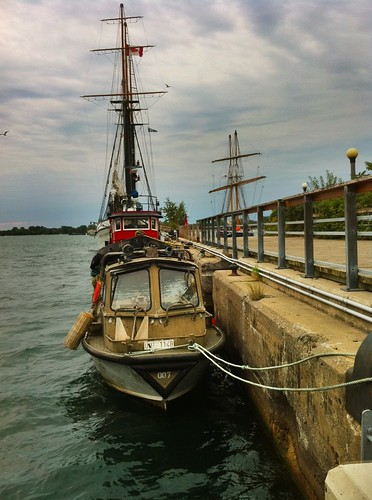 Boats at Spadina Quay