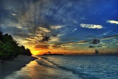 HDR sunset in the Maldives (Oliiiiiii) Tags: sunset sun beach dawn high waves dynamic exotic maldives range beams hdr hdrenfrancais top20sunsetsofourhearts