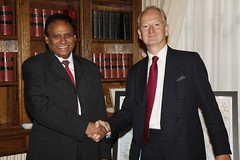 Deputy Minister of International Relations and Co-operation of the Republic of South Africa (Foreign and Commonwealth Office) Tags: henry bellingham foreignoffice fco ukforeignoffice henrybellingham