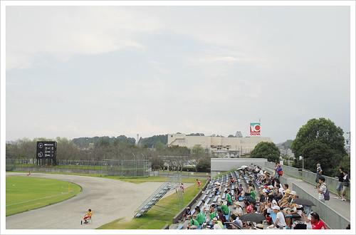 スタンドの風景@伊賀FC VS 日テレ・ベレーザ
