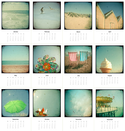 Mini Calendar - The Sea