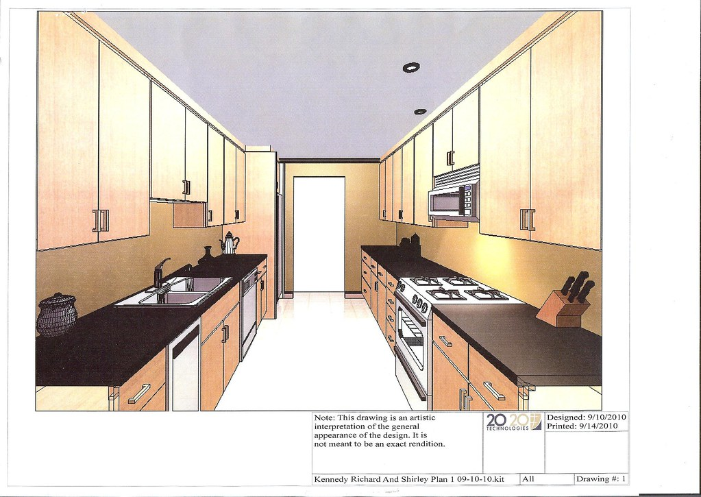Our new kitchen layout